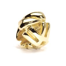 This is an image of the product Letter Bead, W, Gold