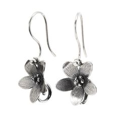This is an image of the product Troll Anemone Earrings with Silver Earring Hooks