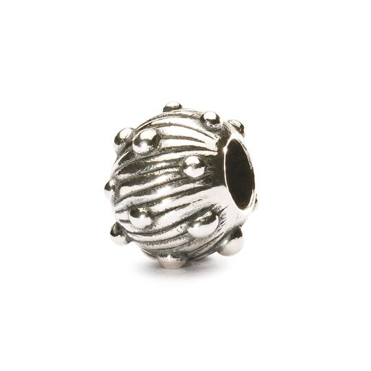 Silver Sea ​​Urchin Bead