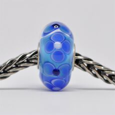 This is an image of the product Unique Blue Bead of Honesty