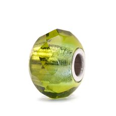This is an image of the product Green Prism Bead