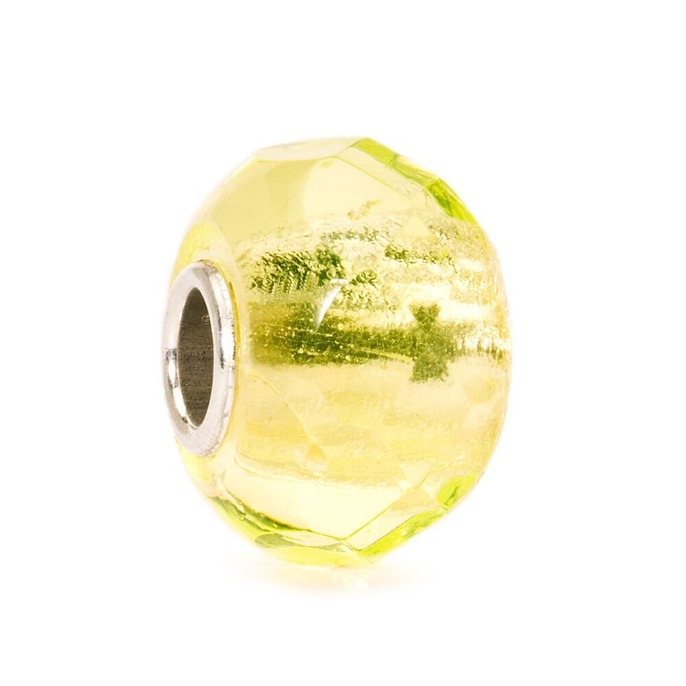 Lime Prism Bead