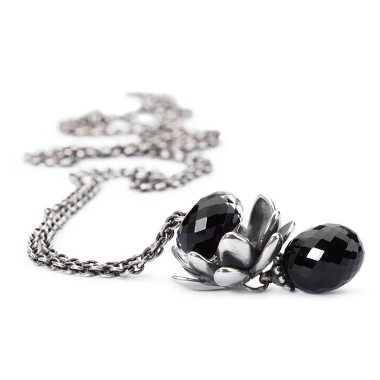 Fantasy Necklace Black Onyx, 60 cm / 23.6 in