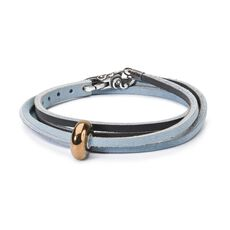 This is an image of the product Festival Sensation Leather Bracelet
