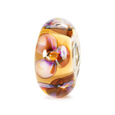 This is an image of the product Amber Violets Bead