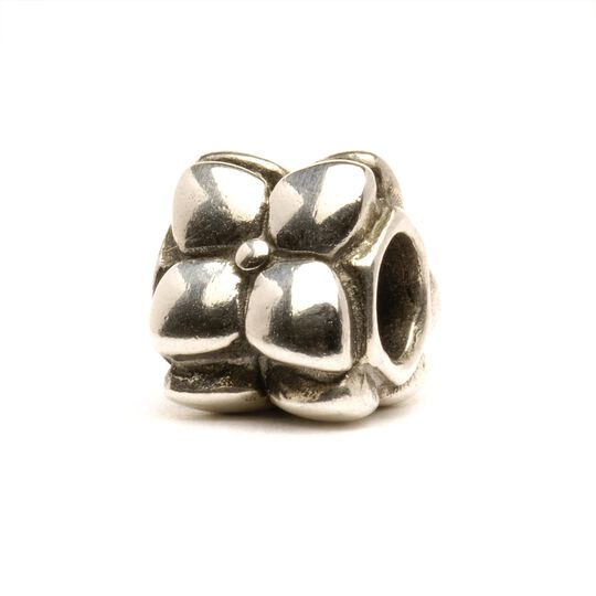 Flowers Bead, Silver