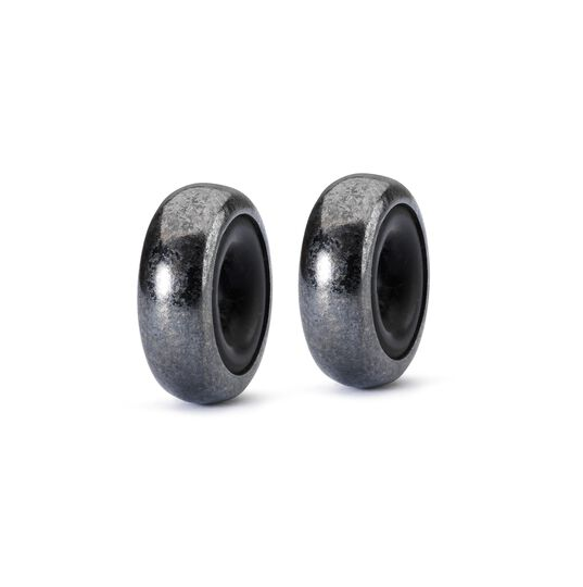 Silver Spacer Oxidized (2pcs)
