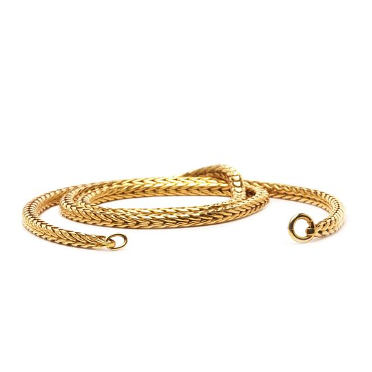 Gold 14 k Necklace with Basic Lock