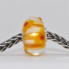 This is an image of the product Unique Orange Bead of Spontaneity