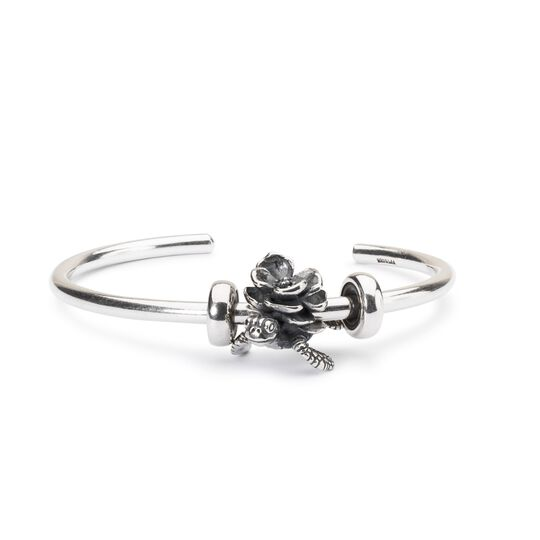 Turtle Flower Bangle