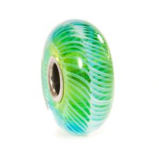 Turquoise Feather Bead