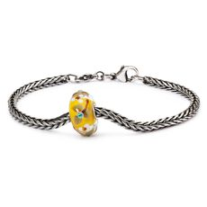 Summer Flowers Silver Bracelet, Basic Lock