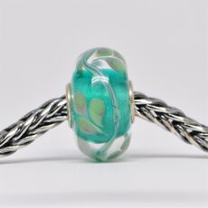 Unique Turquoise Bead of Clarity