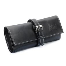 This is an image of the product Trollbeads Leather Travel Pouch