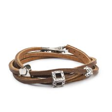 True Design Leather Bracelet