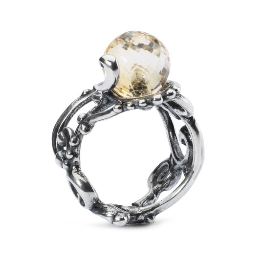 Citrine Facet Ring