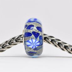Unique Blue Bead of Tranquility