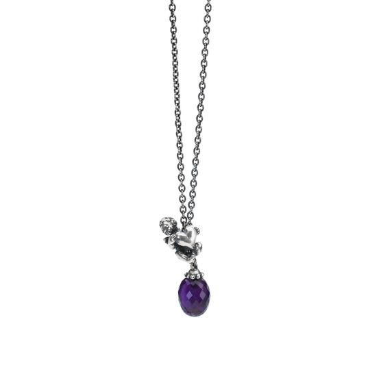 Fantasy Necklace With Amethyst