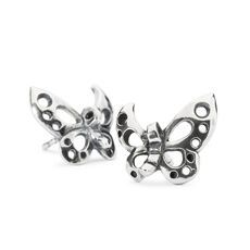 This is an image of the product Dancing Butterfly Stud Earrings