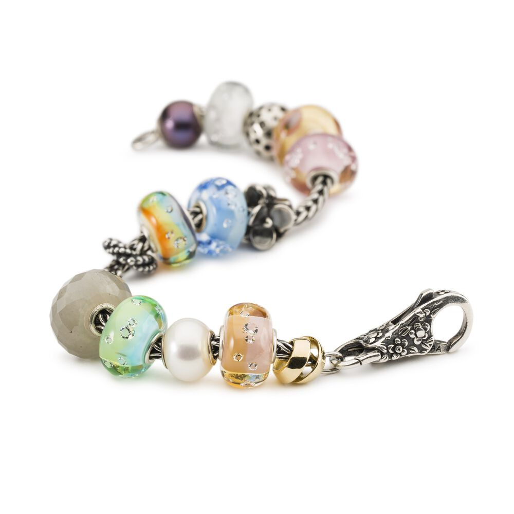 Shade of Sparkle Rose Bead