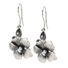 This is an image of the product Flower Freedom Earrings with Silver Earring Hooks