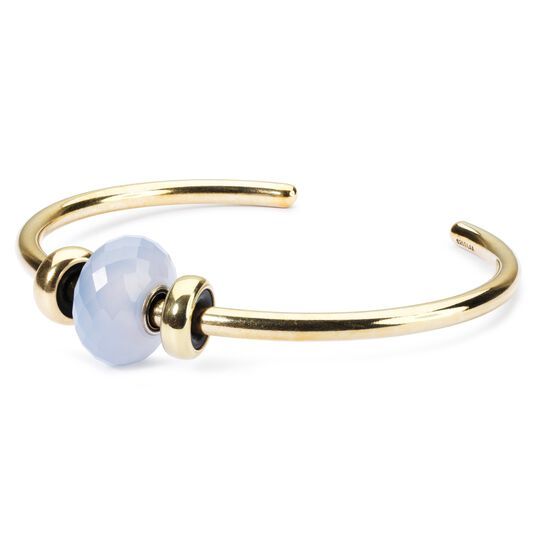 Gold Plated Bangle with 2 x Gold Spacers