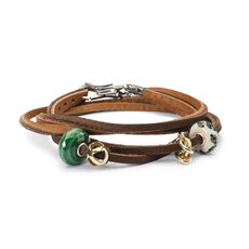 Make it Count Leather Bracelet