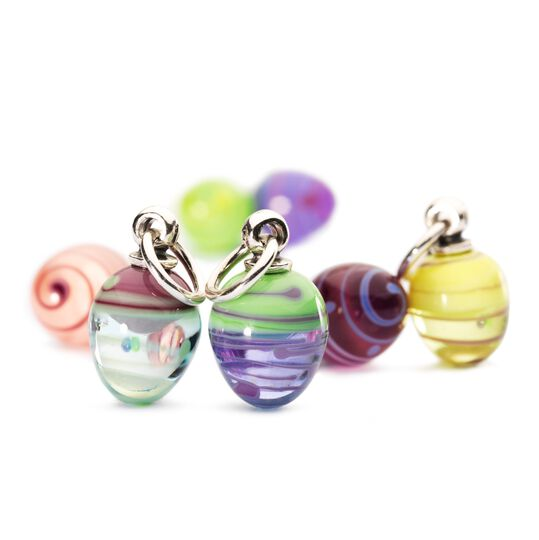 Striped Easter Eggs Bead Kit