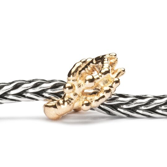 Gold Coral Branch Bead