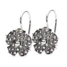 Morning Dew Earrings with Silver Earring Hooks