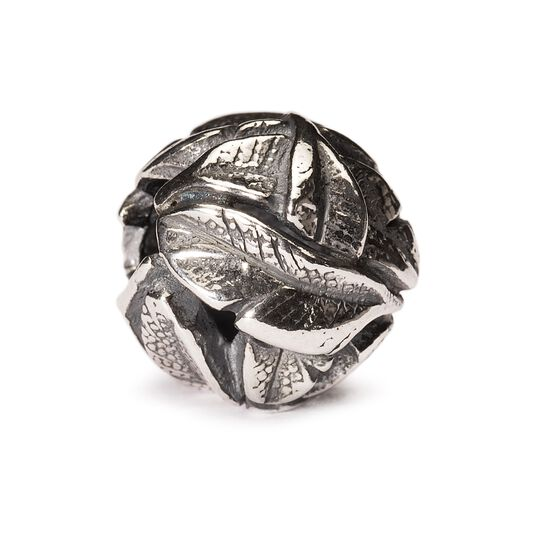 Angel's Feathers Bead, Silver