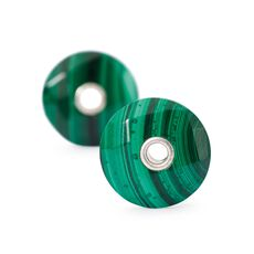 This is an image of the product Malachite, Earring