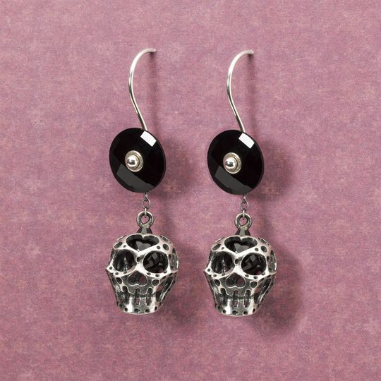 Black Onyx, Earrings