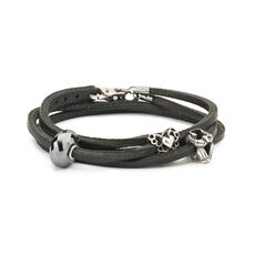 Paradox Leather Bracelet