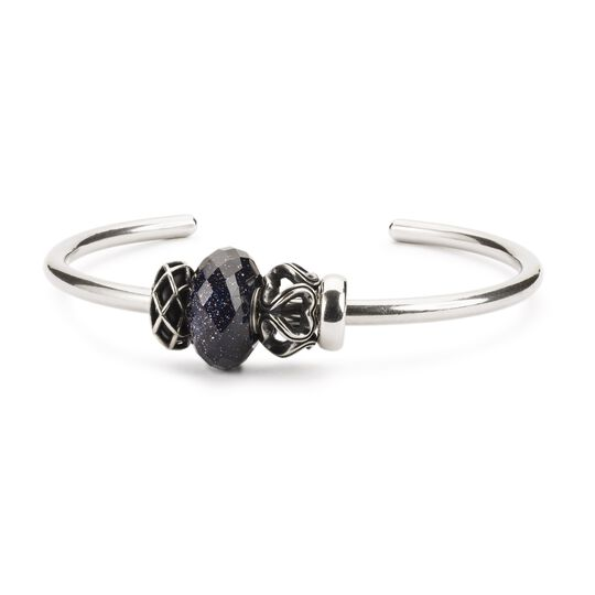 Blue Goldstone Bangle