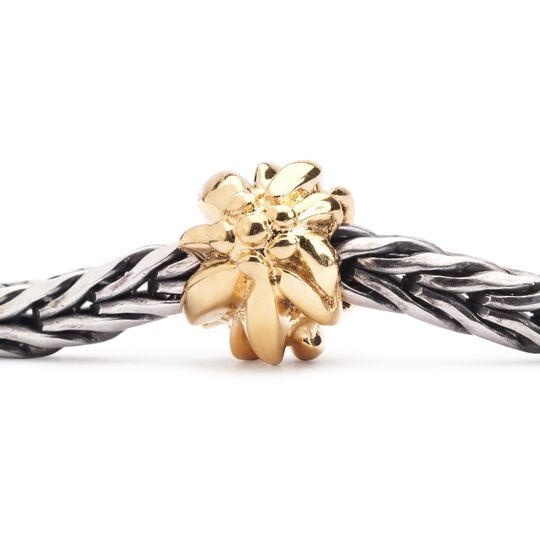 Gold Mountain Flower Bead