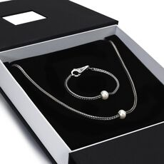 This is an image of the product Exclusive Silver Foxtail Gift Set