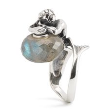 Mermaid with Labradorite Ring