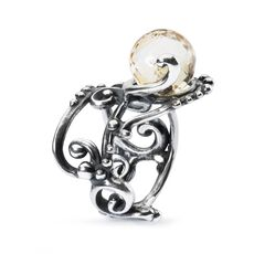 This is an image of the product Anello con Quarzo Citrino
