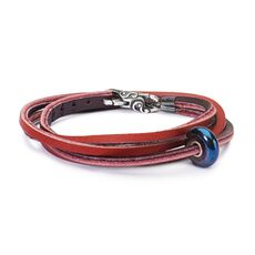 This is an image of the product Festival Circut Leather Bracelet