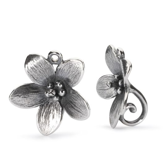 Troll Anemone Earrings with Silver Earring Hooks
