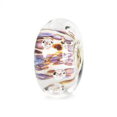 This is an image of the product Purple Rippling Bubbles Bead
