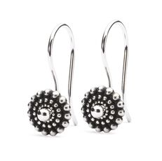 This is an image of the product Sun Circle Earrings with Silver Earring Hooks