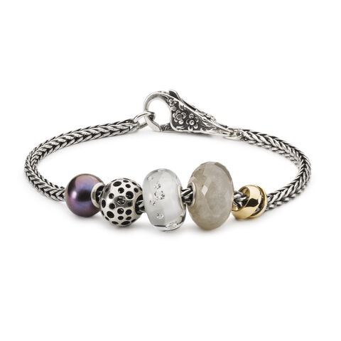Shade of Sparkle Silver Bead