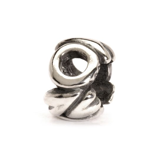 Letter Bead O, Silver