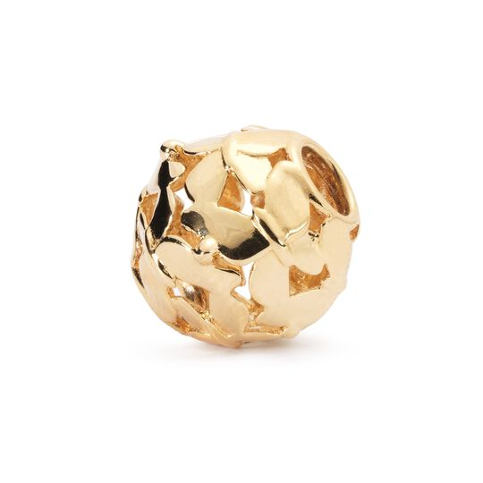 Swarm of Butterflies Bead, Gold