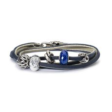 This is an image of the product Mountain High Leather Bracelet