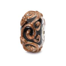 Golden Swirl Bead