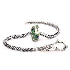 This is an image of the product Bildschöner Pfau Armband