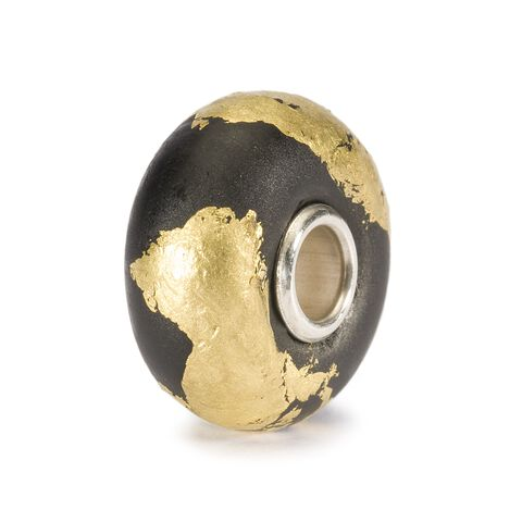 Gold and Black Bead